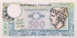 Italy 500 Lire, P-94 (2.4.1979) - UNC - [ 2] 1946-… : Repubblica