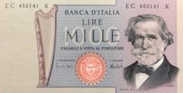 Italy 1.000 Lire, P-101d (5.8.1975) - UNC - 1000 Lire