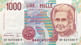 Italy 1.000 Lire, P-114c (3.10.1990) - UNC - [ 2] 1946-… : Repubblica