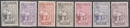 Belgie     .      OBP    .    377/383    .    *      Ongebruikt Met Gom   .   /   .   Neuf Avec Gomme - Unused Stamps