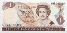New Zealand 1 Dollar, P-169c (1989) - UNC - Nieuw-Zeeland