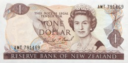 New Zealand 1 Dollar, P-169c (1989) - UNC - Neuseeland