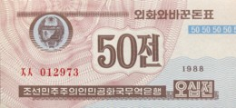 North Korea 50 Chon, P-34 (1988) - UNC - Korea, Noord