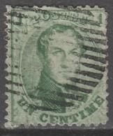Belgie     .      OBP    .    13A   Stempel!  .     O        Gebruikt   .   /   .   Oblitéré - 1863-1864 Médaillons (13/16)