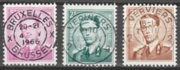 Belgie     .      OBP    .    3 Zegels     .     O        Gebruikt   .   /   .   Oblitéré - Used Stamps