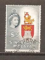 Singapur Nº Yvert   42 (usado) (o) - Singapore (...-1959)