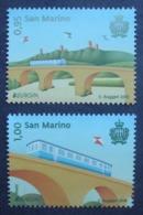 San Marino     Europa  Cept   Brücken   2018    ** - 2018