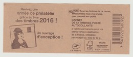 """FRANCE - CARNET N° 1215 C 5 - NEUF** NON PLIE - Marianne De Ciappa-Kawena """" Revivez Une Année De Philatélie .... """" - Carnets"""