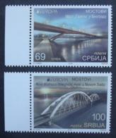 Serbien     Europa  Cept   Brücken   2018    ** - 2018