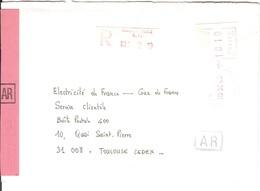 Vignette MOG Guichet FORT DE FRANCE MARTINIQUE LS LETTRE RECOMMANDEE EINSCHREIBEN REGISTERED COVER 1983 AR - 1981-84 LS & LSA Prototypes