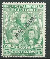 Equateur   -   Yvert N° 95 *    - Ava 29303 - Equateur