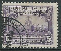 Equateur   -   Yvert N°   170 Oblitéré      - Ava 29309 - Equateur