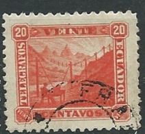 Equateur   - Telegraphe   -   Yvert N°   12 Oblitéré      - Ava 293022 - Equateur