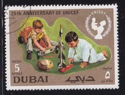 Dubai 1971, Minr 402 Vfu. Cv 2,60 Euro - Dubai