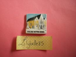 Feve PERSO Ancienne En Porcelaine - EGLISE NOTRE DAME - NOGENT LE ROTROU 1998 ( Feves Figurine Miniature ) RARE - Regiones