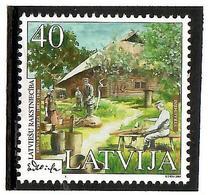 Latvia 2003 . Literature 2003 (E.Virza). 1v: 40.     Michel # 589 - Lettonie