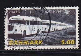 Denmark 1995, Busses, Minr 1101 Vfu. Cv 2 Euro - Usati