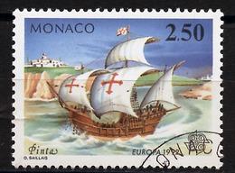 Europa CEPT 1992 Monaco Y&T N°1825 - Michel N°2070 (o) - 2,50f EUROPA - Europa-CEPT