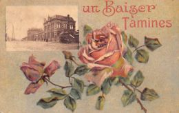 TAMINES Namur - Un Baiser De.. - La Gare - Ed. Inconnu. - Belgique