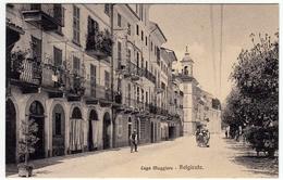 LAGO MAGGIORE - BELGIRATE - VERBANIA - 1911 - Vedi Retro - Formato Piccolo - Verbania