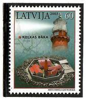 Latvia 2003 .   Kolka Lighthouse. 1v: 60.    Michel # 591 - Lettonie