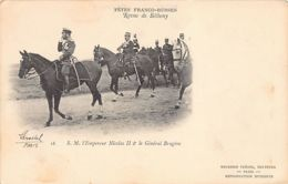 Russia - The Franco-Russian Celebration - H.M. The Tsar Nicholas II - Publ. Neurdein 18. - Russie