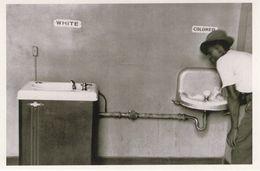 Racial Segregation 1950s Slave Apartheid North Carolina USA Photo Postcard - Photographie