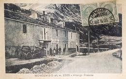 Cartolina - Moncenisio - Albergo Rosazza - 1920 - Italie