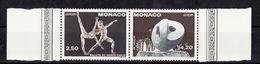 Europa CEPT 1993 Monaco Y&T N°1875a à 1876a - Michel N°2120C à 2121C *** - Dentelé 13x12,50 - Europa-CEPT