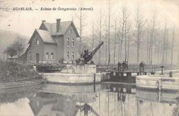 AUVELAIS (Namur) Ecluse De Grogneaux (Amont) - Belgique
