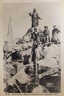 Cartolina - Susa - Monumento A Maria Sul Rocciamelone - 1900 Ca. - Italie