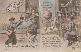 L130A981 - Carte Humoristique De Jeux De Mots Sur Les Canons, Les Obus... - GMT N°511/2 - Humour