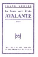 ROGER VERCEL ATALANTE Roman - Books, Magazines, Comics