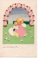 Jeanne Hebbelynck  Geboortekaartje Edy 1951  Vilvoorde Vilvorde  Fairepart De Naissance Engel Ange  In Nederlands - Birth & Baptism