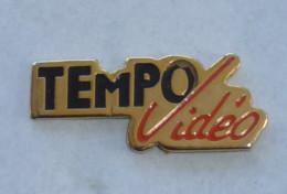 Pin's TEMPO VIDEO - Cine
