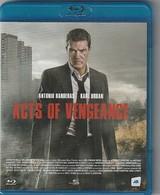 Blu Ray DVD ACTS OF VEGEANCE Avec Antonio Banderas - Acción, Aventura