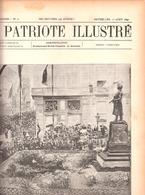 Usine Marie Thumas à Wilsele-lez-Louvain-Leuven-Inauguration Du Monument Rogier à Bruxelles-Patriote Illustré 1/8/1897 - Culture