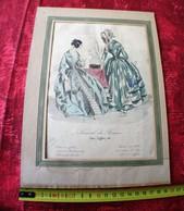 1844 ISSU DU TIRAGE DU JOURNAL DES FEMMES -44 RUE LAFFITTE PARIS - PHOTOGRAVURE HÉLIOGRAVURE - Gravures