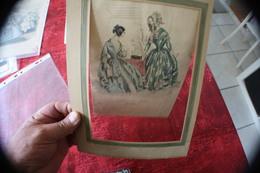 1844 ISSU DU TIRAGE DU MUSÉE DES FAMILLES  - 24 RUE ST ROCH PARIS --PHOTOGRAVURE HÉLIOGRAVURE - Gravures