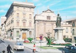 Cartolina Ascoli Piceno - Piazza Roma - 1961 - Ascoli Piceno