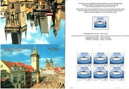 Latvia 2003 .  Praha 2003. Fish, V:30. Booklet Of 6. Top/bot Imp.     Michel #  595D   MH - Lettonie