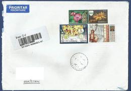 ROMANIA POSTAL USED AIRMAIL COVER TO PAKISTAN - Posta Aerea