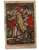 C24. Image Pieuse 18s. C.de Boudt 6 X 9,5  Cm Parchemin Judas - Devotieprenten