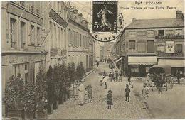 CPM   Fécamp Place Thiers  (REPRO) - Fécamp