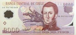 Chile 2.000 Pesos, P-160a (2004) UNC - Chile