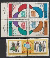 Timbres Allemagne De L'est RDA DDR  De 1962 Yvert 614/619 Neufs ** - [6] Democratic Republic