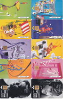 LOT De 150 Télécartes FRANCE (en Série Complète) - Phonecards