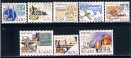 Portugal, 1978/83, # 1360/1, 1364, 1366, 1368, 1370, 1375, 1377, MNH - Nuevos