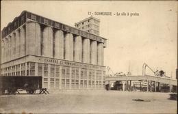 Cp Dunkerque Nord, Le Silo à Grains, Chambre De Commerce, Getreidesilo, Güterwaggon - France