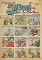 Le Journal De SPIROU - 8ème Année N° 441 - 26 Semtembre 1946 - Jijé - Paape - F;Dineur - BON ETAT - Spirou Magazine
